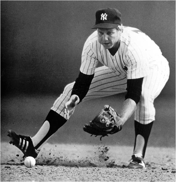 Doyle was a backup second baseman who hit .192 in 39 games. An injury to starter Willie Randolph forced Doyle into the lineup for the World Series against Los Angeles. Doyle responded by going 6-for-17, including his first career extra-base hit (a double) as the Yankees beat the Dodgers in six games.